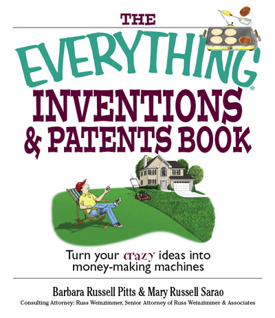 Everything Inventions Patents Book cover