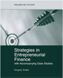 Strategies in Entrepreneurial Finance book cover