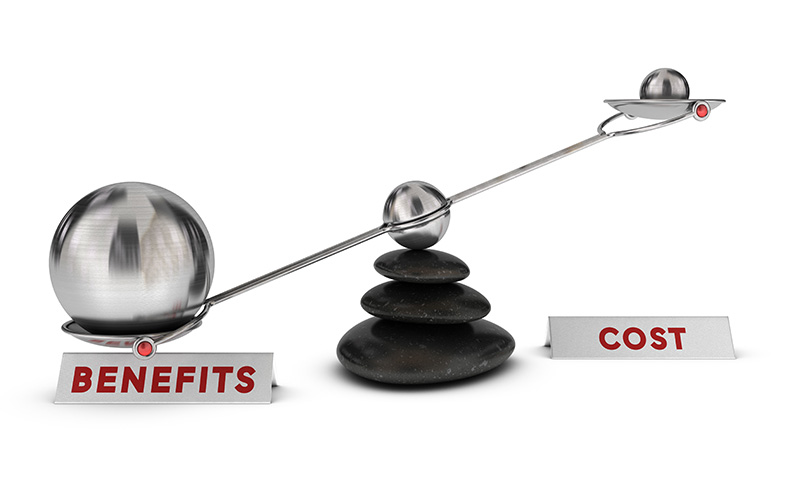 patent benefits outweigh costs