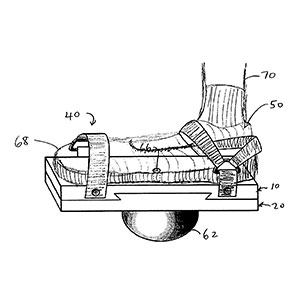 Patent Drawing - therapeutic sandals